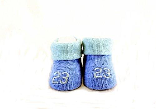 5e13246a5402 Nike Jumpman 23 Air Jordan Booties Socks Blues City Relics. Nib Nike Air  Jordan Baby S 3pc Pink Bodysuit Bootie Cap ...
